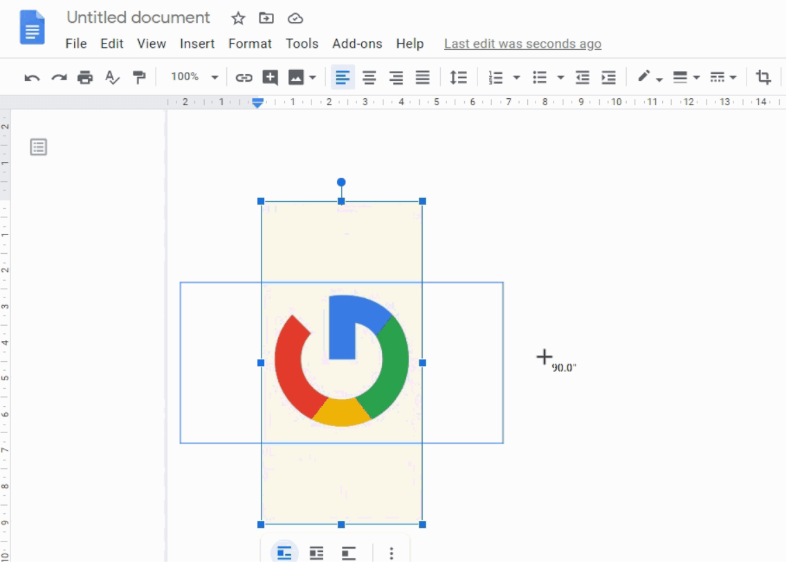 4 Ways to Rotate an Image in Google Docs